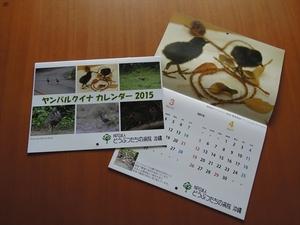ヤンバルクイナカレンダー2015.JPG